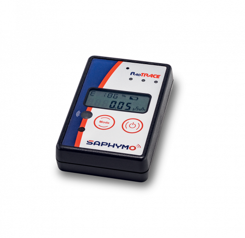 RadTRACE, gamma radiation survey meter