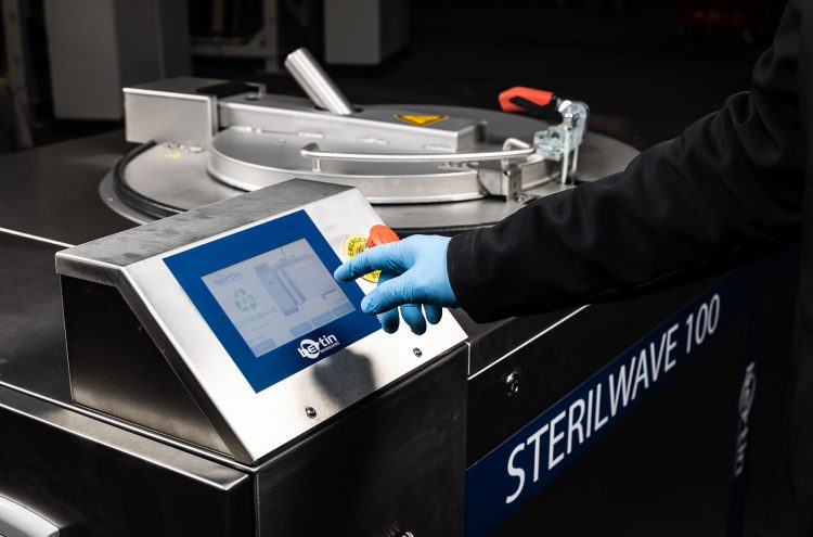 Sterilwave 100, programming the machine