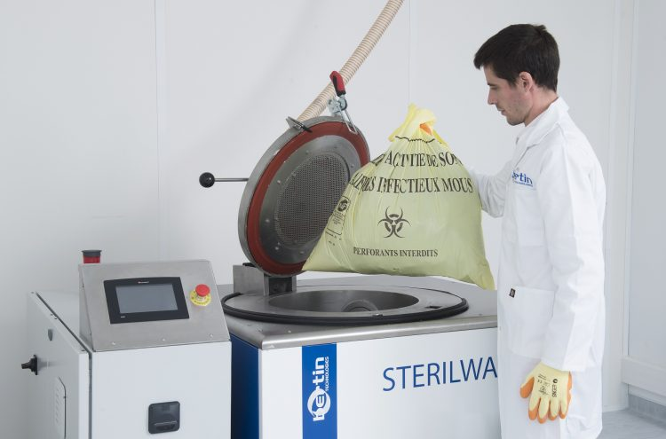 Sterilwave 100, microbial inactivation by microwave treatment