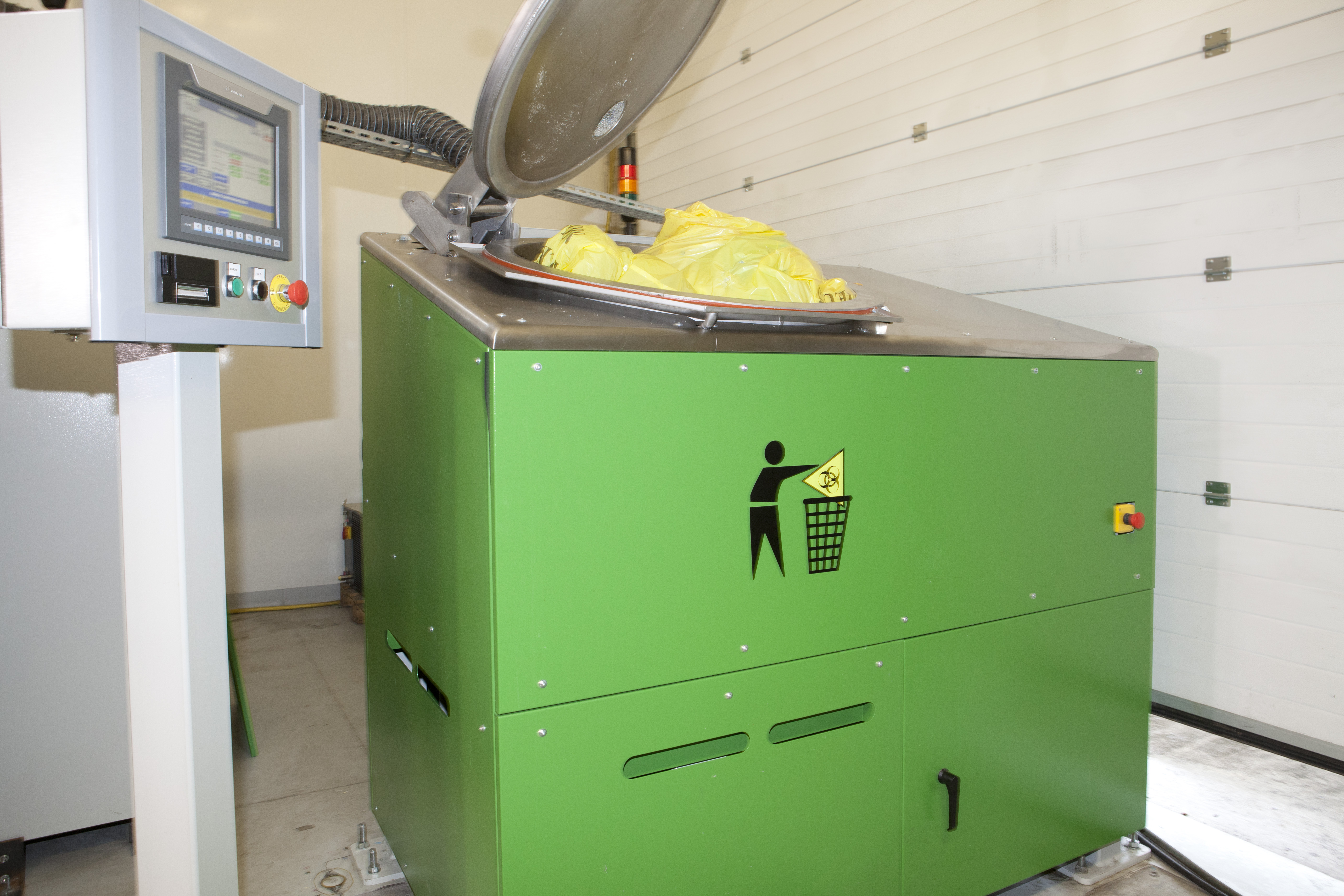 Hazardous Waste Disposal Blending And Sterilization Of
