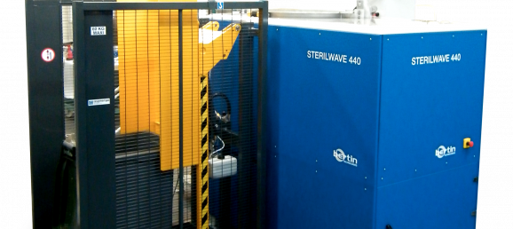 Sterilwave 440, on-site waste management solution for hospitals