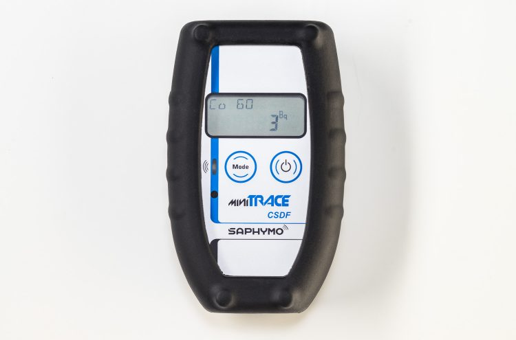 Survey, dose rate, and X-rays radiation measurement with the MiniTRACE CSDF