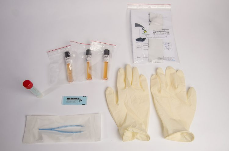 Example of biological inactivation control kit for the Sterilwave systems