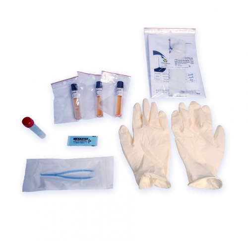 Biological inactivation control kit for the Sterilwave systems