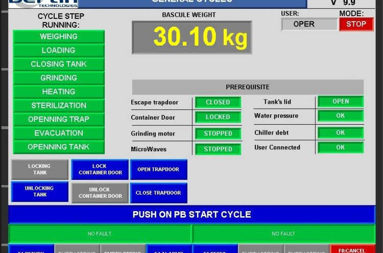 cycle software for production monitoring