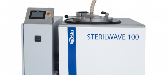 Steam extraction for the Sterilwave waste treatment system