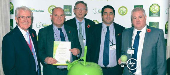 Sterilwave, 2017 Green Apple Environmental Services Award Winner